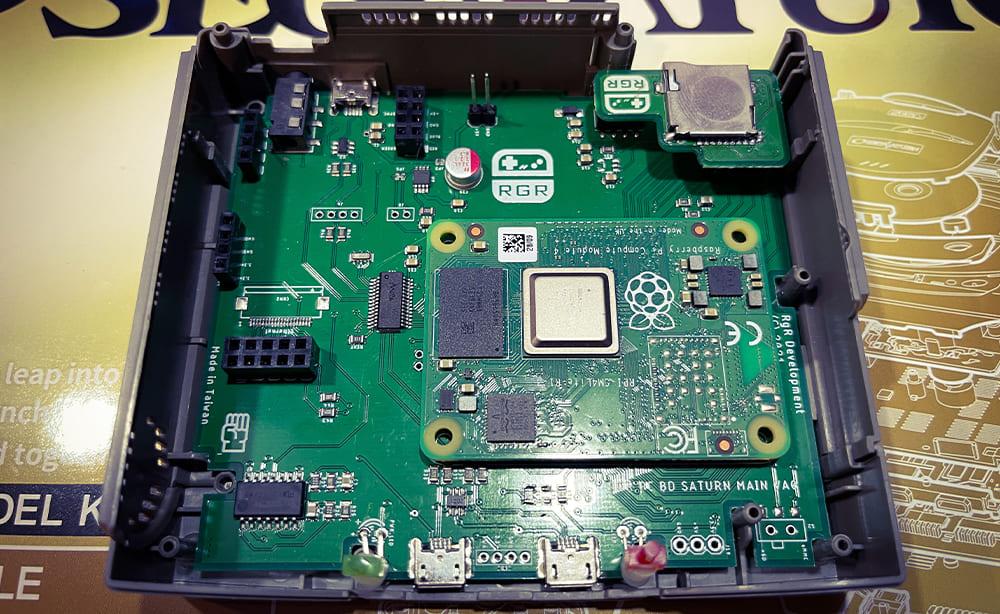 セガサターンミニ Raspberry Pi