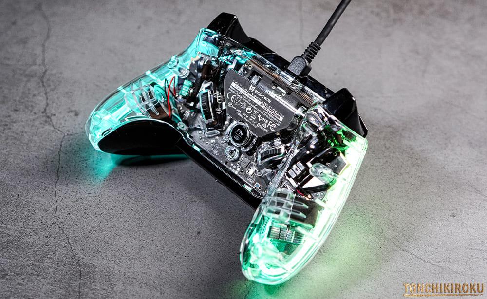 ゲームコントローラー RAINBOW 操作方法