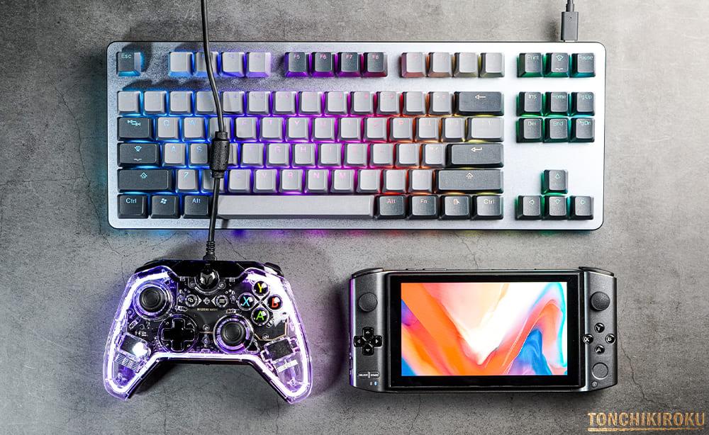 ゲームコントローラー RAINBOW 接続方法